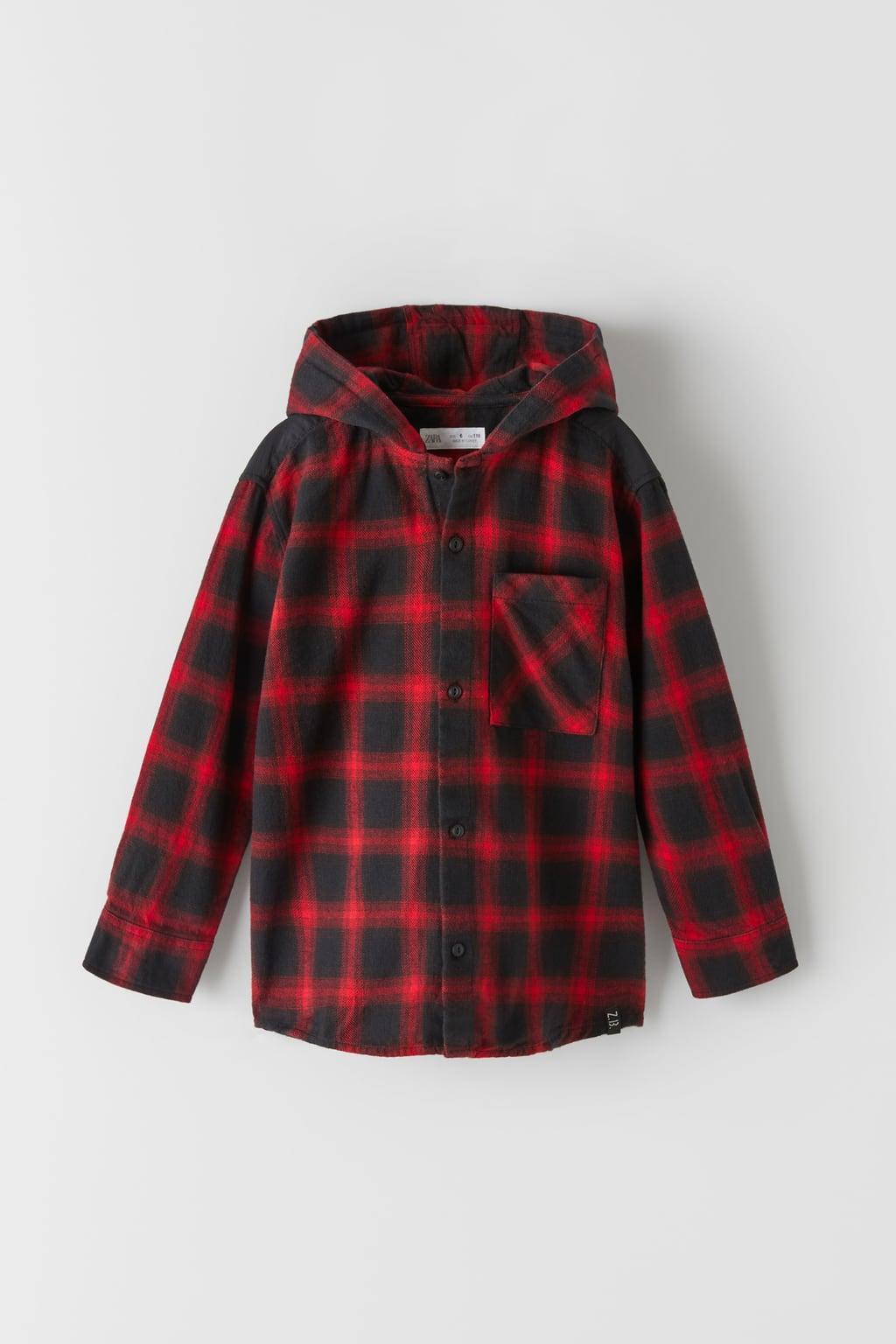 Отзыв на OVERSHIRT WITH CONTRAST CHECKS из Интернет-Магазина Zara
