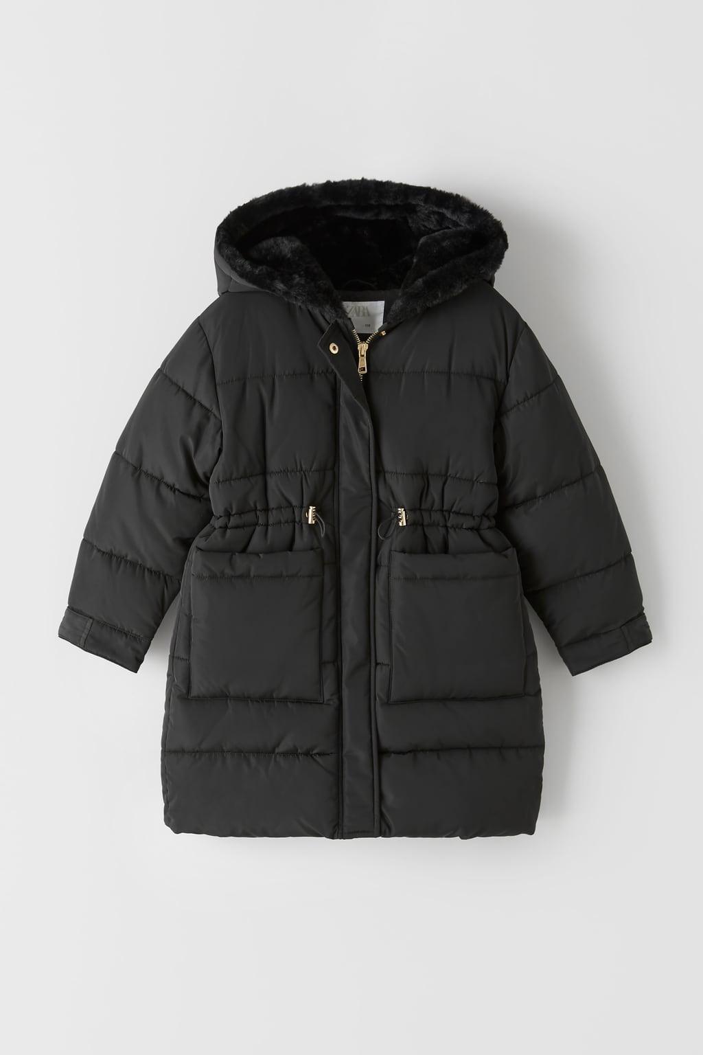 Отзыв на Длинные стеганая куртка из Интернет-Магазина Zara