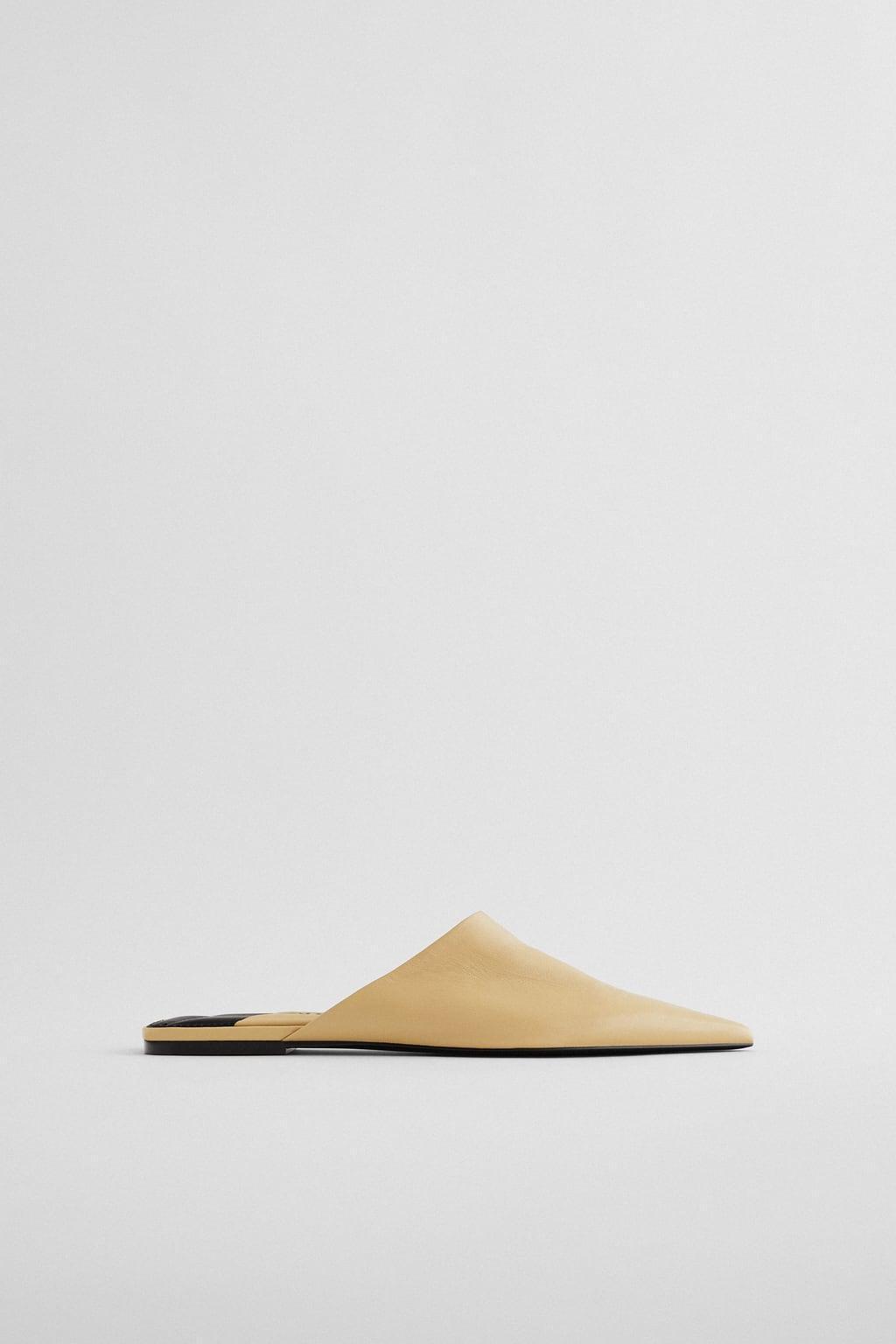Отзыв на FLACHE LEDERPANTOLETTE из Интернет-Магазина Zara