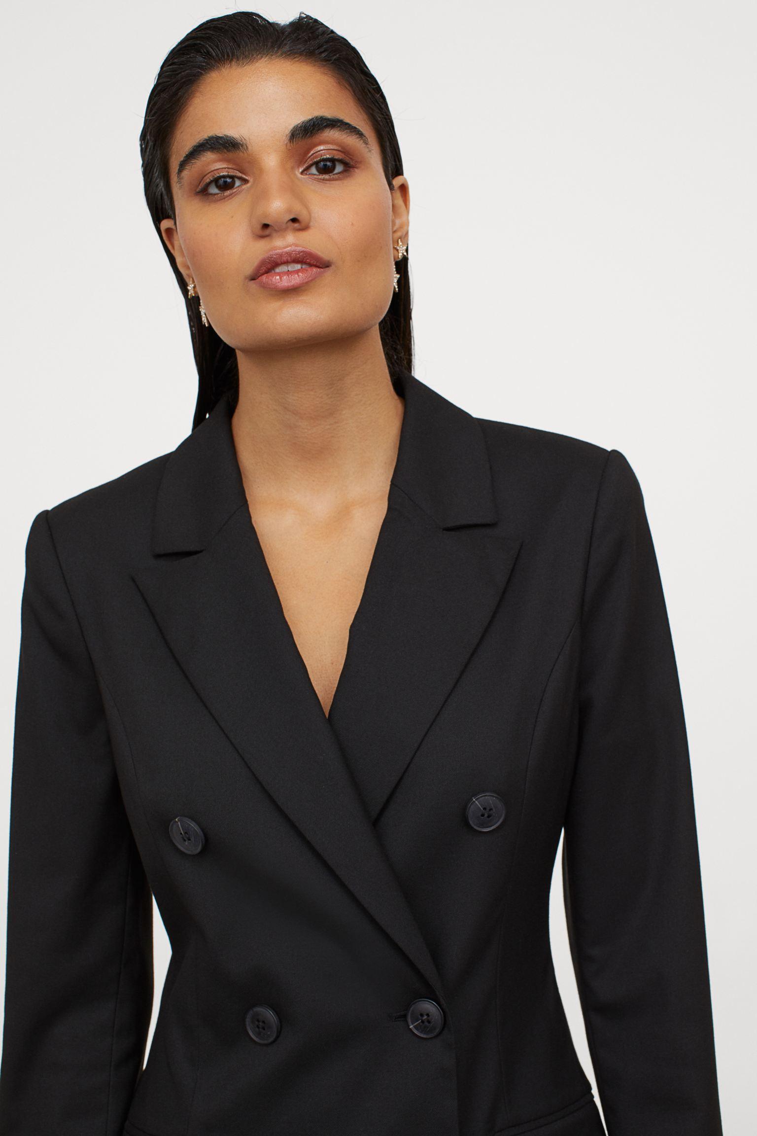 Отзыв на Zweireihiges Blazerkleid из Интернет-Магазина H&M