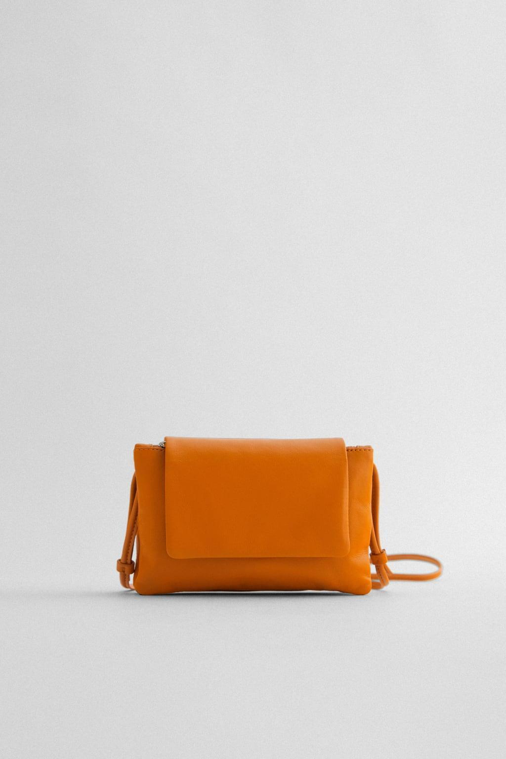 Отзыв на Сумка через плечо с кожи с из Интернет-Магазина Zara