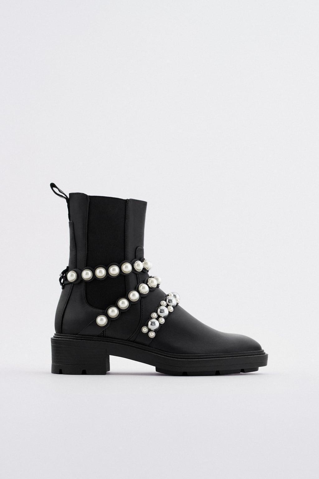 Отзыв на Ботильоны  искусственный жемчужина из Интернет-Магазина Zara