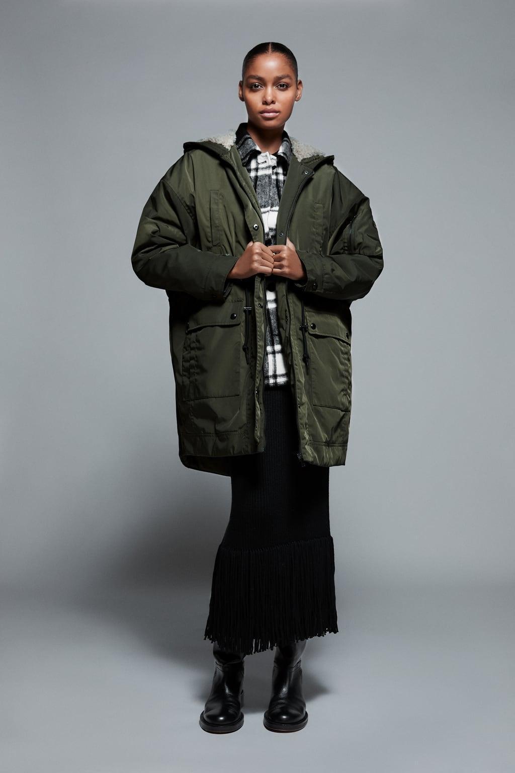 Отзыв на Парка на меховой подкладке из Интернет-Магазина Zara