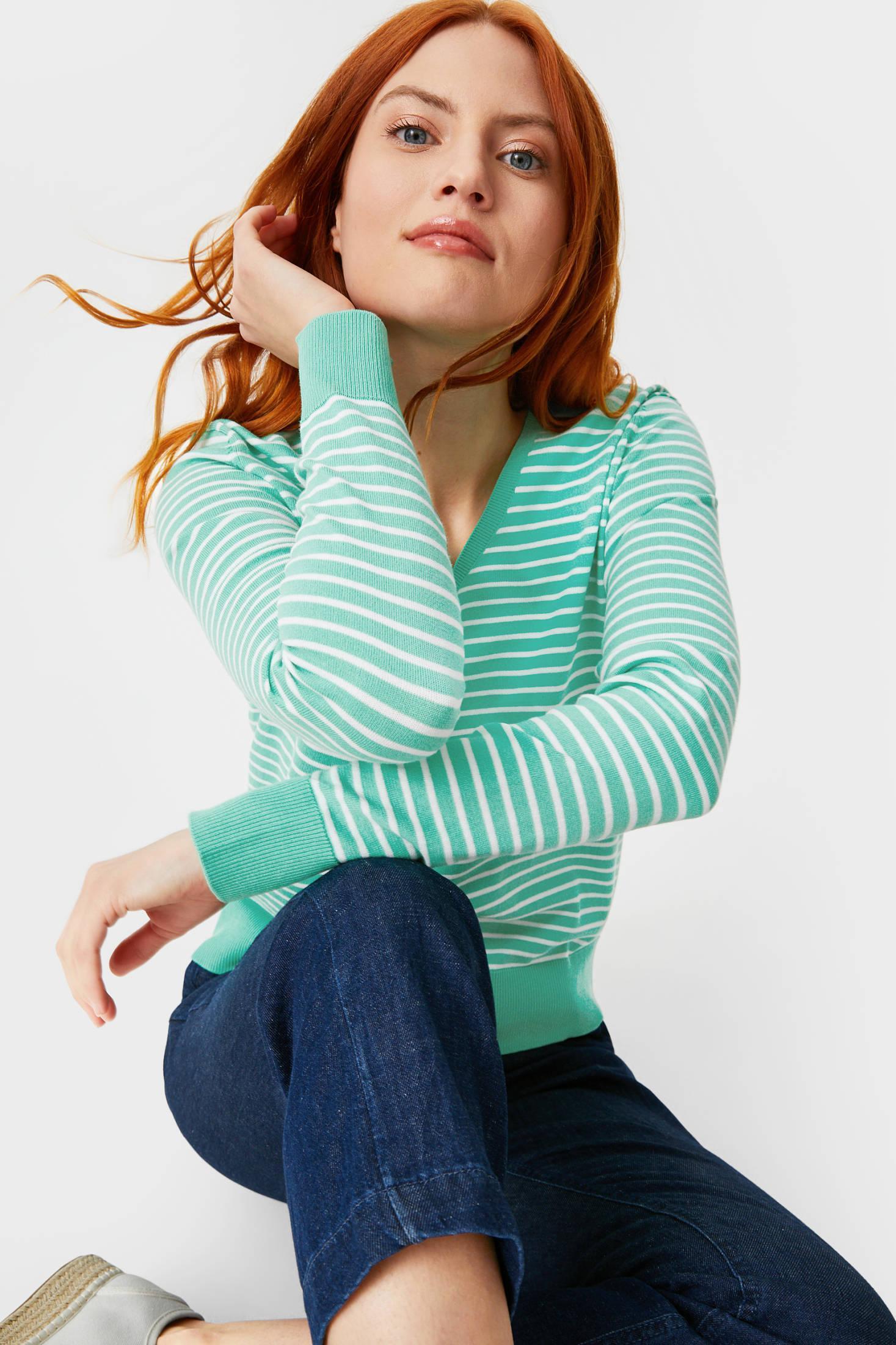 Отзыв на Basic-Pullover - gestreift из Интернет-Магазина C&A
