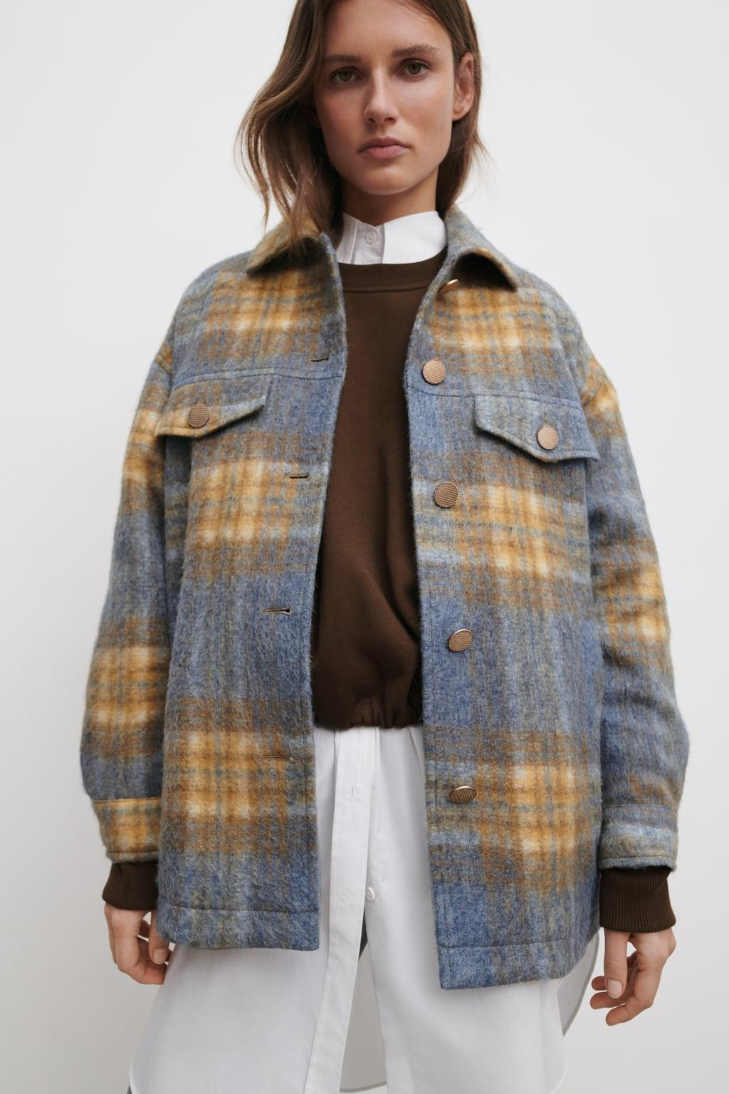 Отзыв на KARIERTES OVERSIZE-OVERSHIRT из Интернет-Магазина Zara