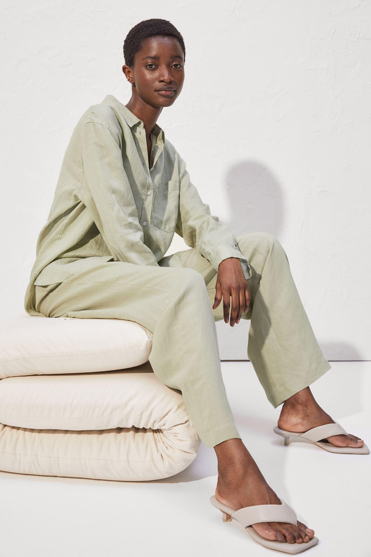 Отзыв на Leinenbluse из Интернет-Магазина H&M