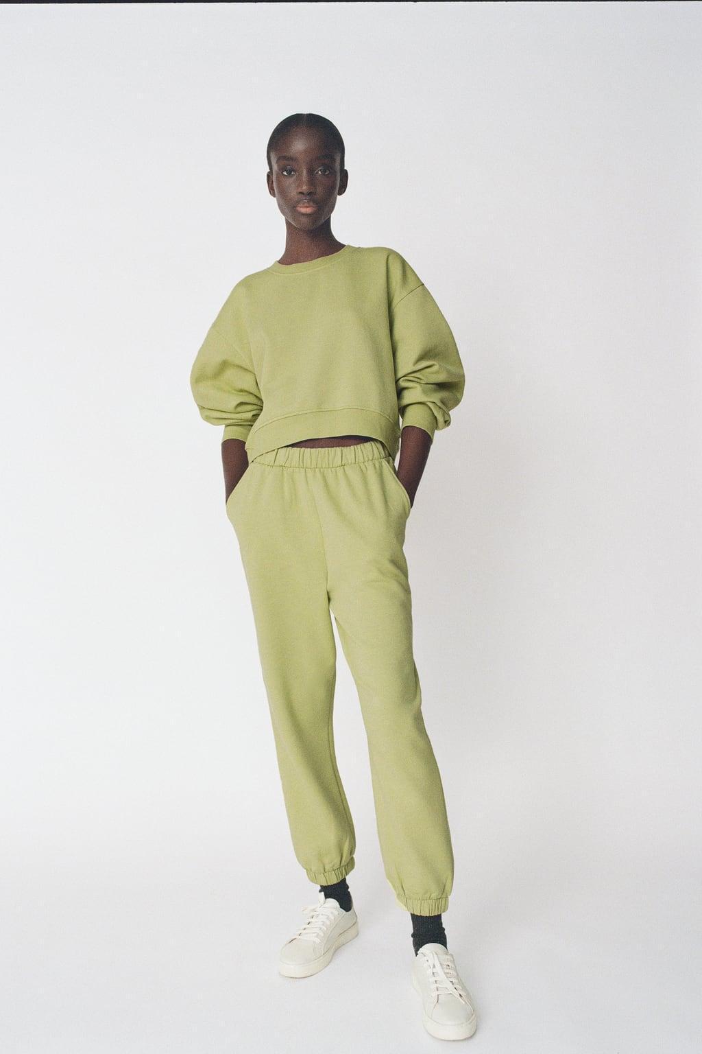 Отзыв на Спортивные штаны с трикотажа из Интернет-Магазина Zara