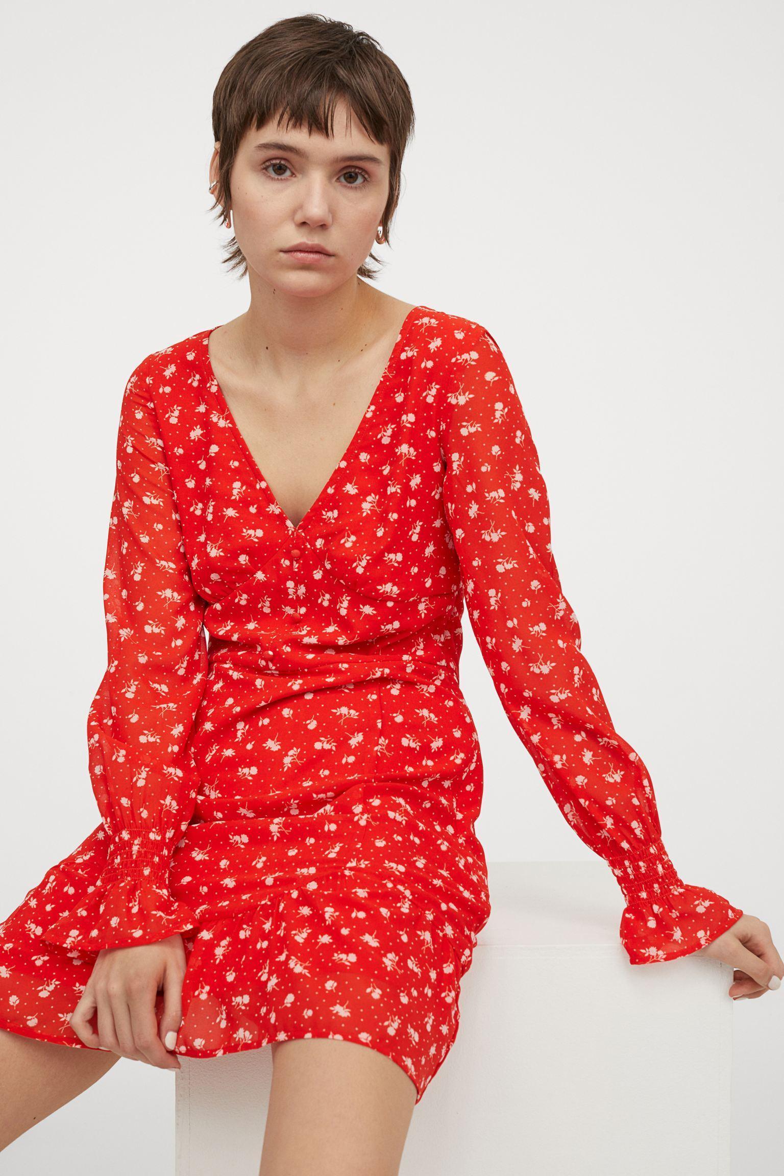 Отзыв на Шифоновое платье с из Интернет-Магазина H&M