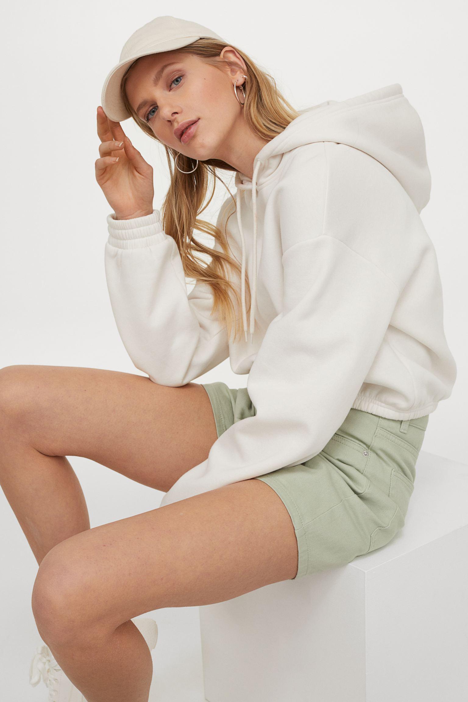Отзыв на Twillshorts mit hohem Bund из Интернет-Магазина H&M