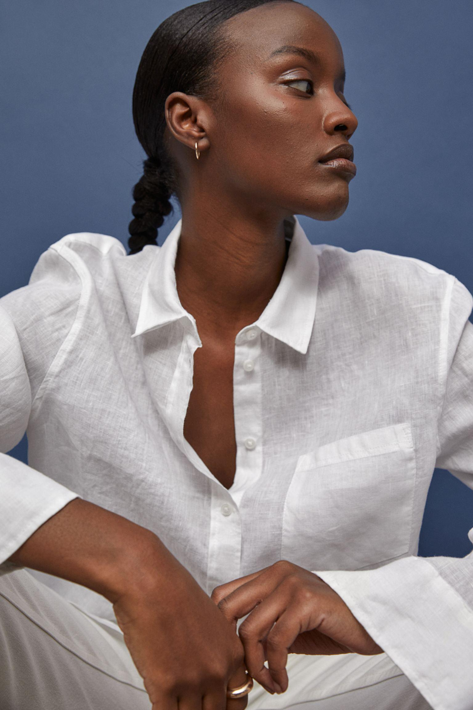 Отзыв на Льняная рубашка из Интернет-Магазина H&M