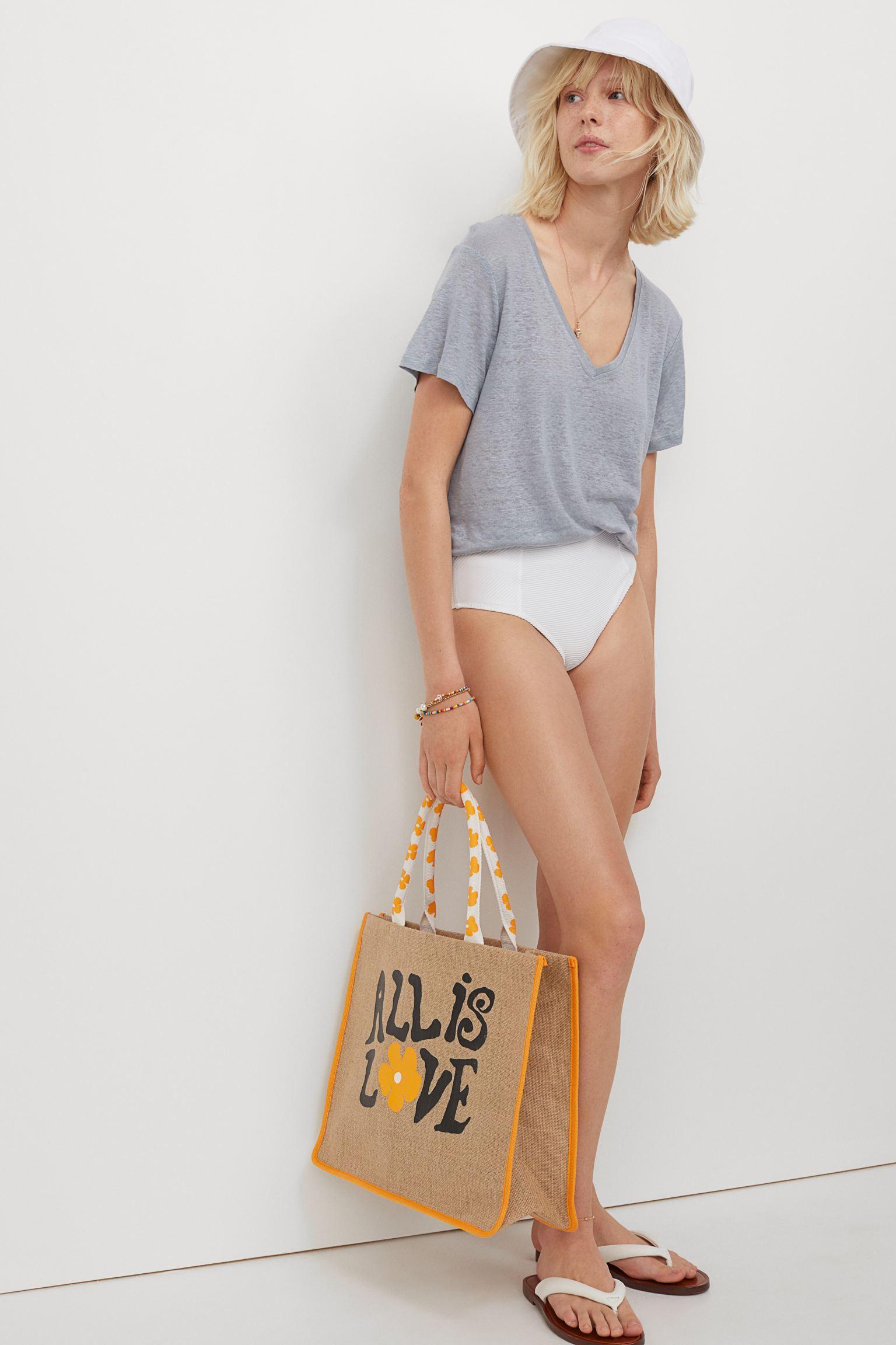 Отзыв на Рубашка из льняного джерси из Интернет-Магазина H&M