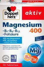Отзыв на Magnesium 400mg Tabletten 30 St., 38,1 g из Интернет-Магазина DM